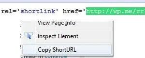 Copy Short URL