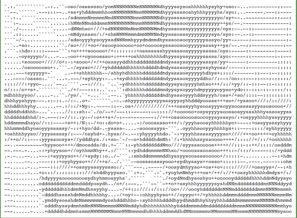 Create Ascii Art Windows 10