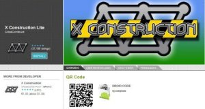 Display QR code on app pages in Android Market Webstore