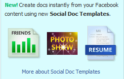 Docs Social Templates