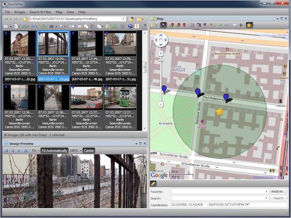 Geo Setter Multiple Images