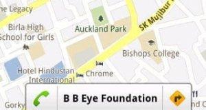 Google Maps Bubble Buttons