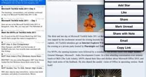 Google Reader on iPad