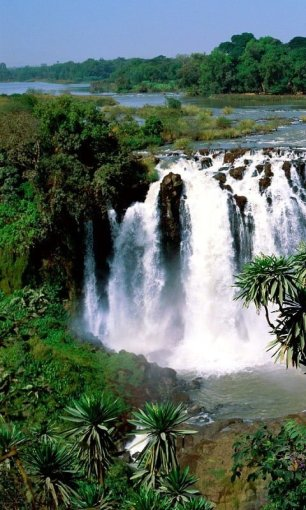 HTC HD2 Nature Wallpaper Pack Waterfall
