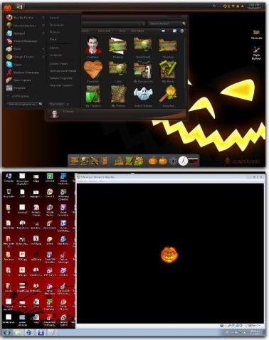 Halloween Haloween Skin Pack free for Windows 7