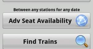 Indian Rail Info Free Android App for Indian Railways