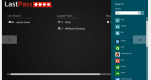 Last Pass for Windows 8