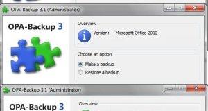 OPA Backup Steps