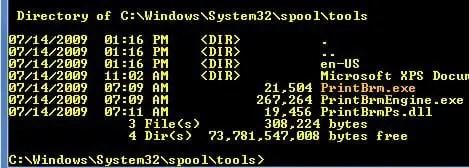 PrintBrm Command Line