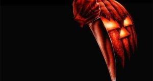 Pumpkin Knife : Scary Halloween Wallpaper