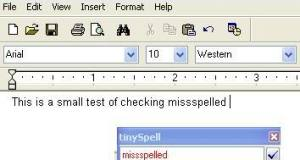 free Spell checker to Wordpad Notepad