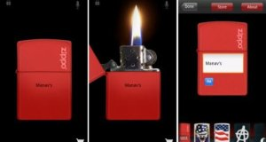 Virtual Zippo Lighter app for Android [Free]
