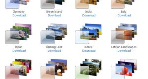Windows 7 Country Themes