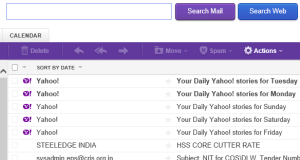 Yahoo Promotuonal Email