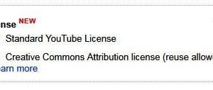 YouTube CC License