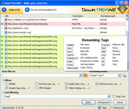 Download Manager for Firefox