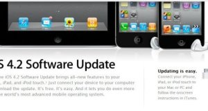iOS 4.2 Upate