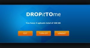 manage your dropittome account