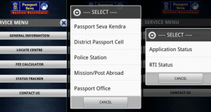 Passport Application Status Tracker