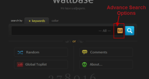 Wallbase: search engine to search and download free wallpapers