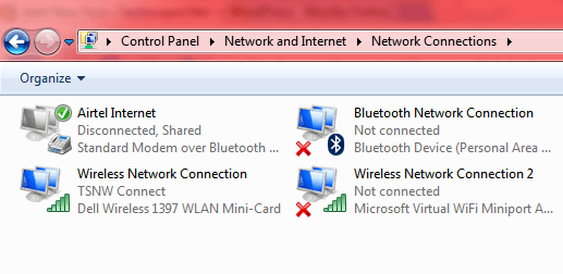 create Windows 7 Hotspot