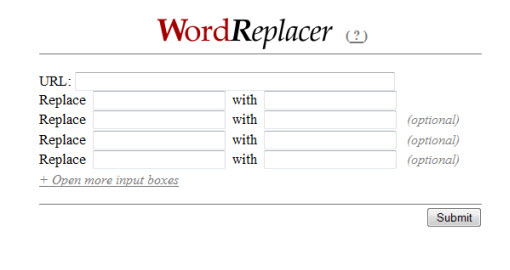 word-replacer-example