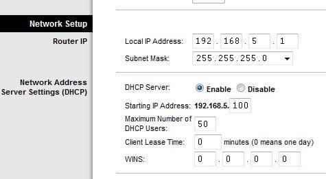 Wrt54g2 Router IP