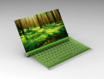 Thirsty Eco Computers – The Plantbook Laptop Concept
