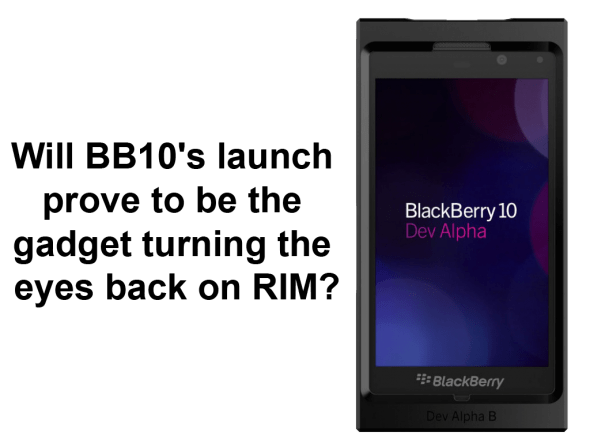 Blackberry 10 cham's post