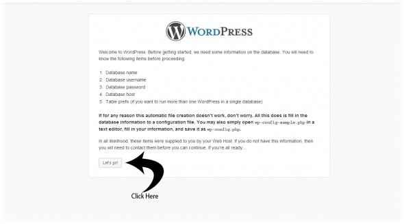wordpress Config File