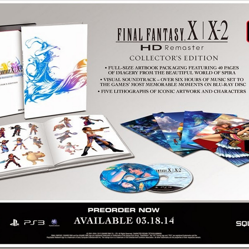 Detalles del Final Fantasy X | X-2 HD Collector's Edition