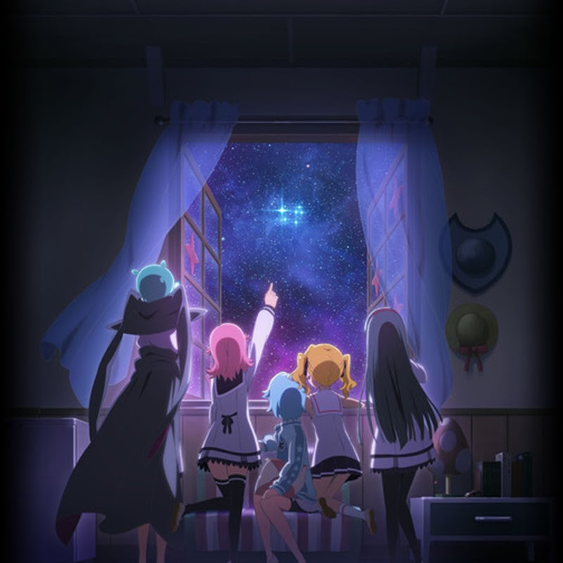 Imagen de promoción para Houkago no Pleiades de Gainax