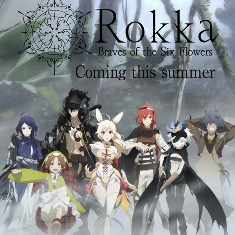 Rokka no Yuusha – trailer para el anime