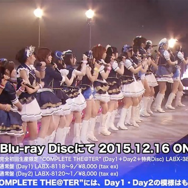 The Idolm@ster Million Live! 2nd Live Enjoy H@rmony!! – preview del Blu-ray