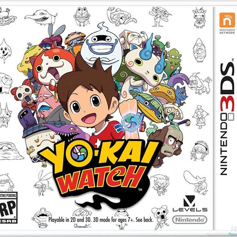 Comercial en inglés para el video juego de Youkai Watch