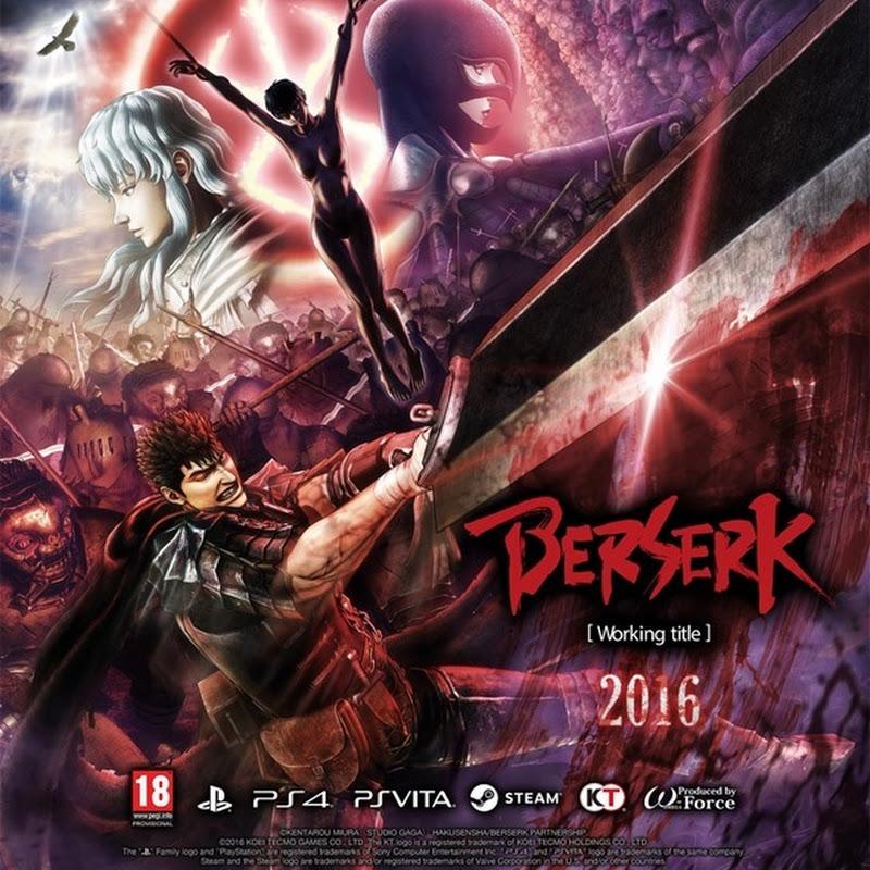El video juego de Berserk llegará a occidente en otoño