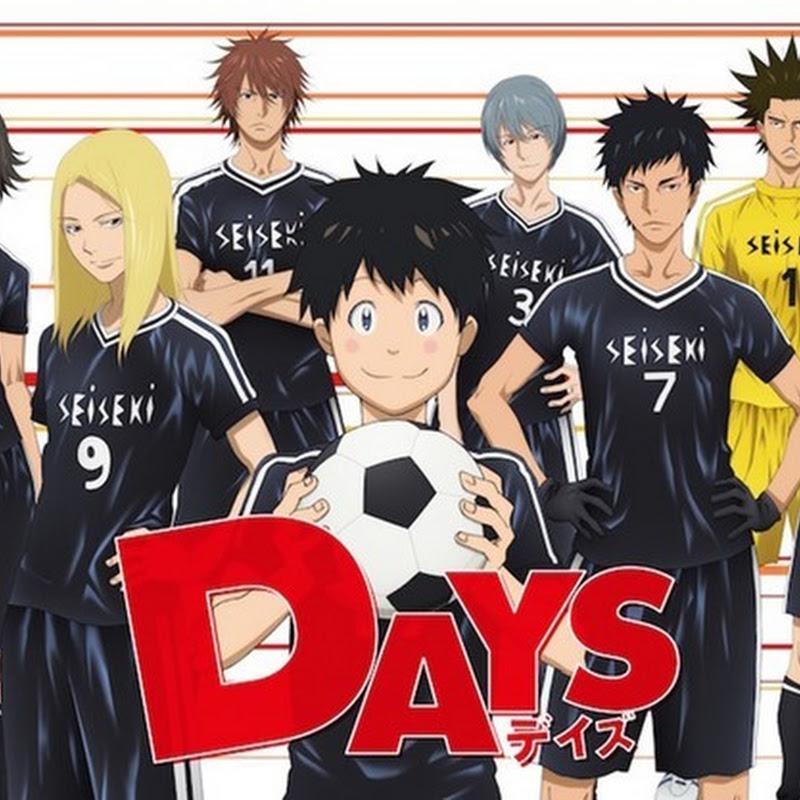 Fechas de salida de los DVD/Blu-ray del anime DAYS