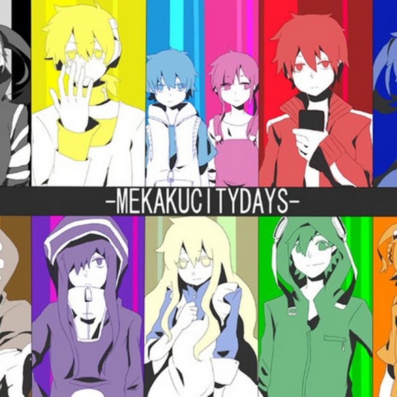 "Detalles para el anime ""Mekaku City Actors"""