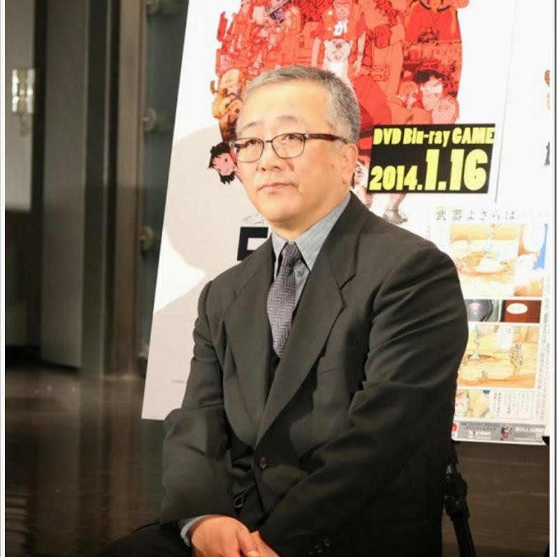 Otomo Katsuhiro es premiado con el premio Winsor McCay