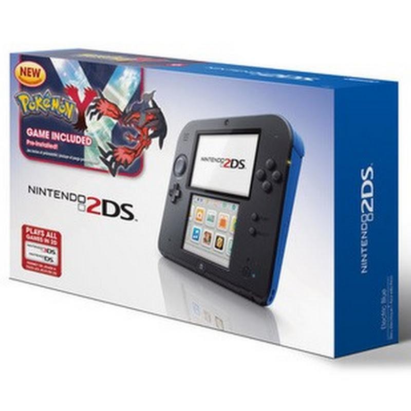Pokémon X y Pokémon Y vendrán en paquete con Nintendo 2DS en Estados Unidos