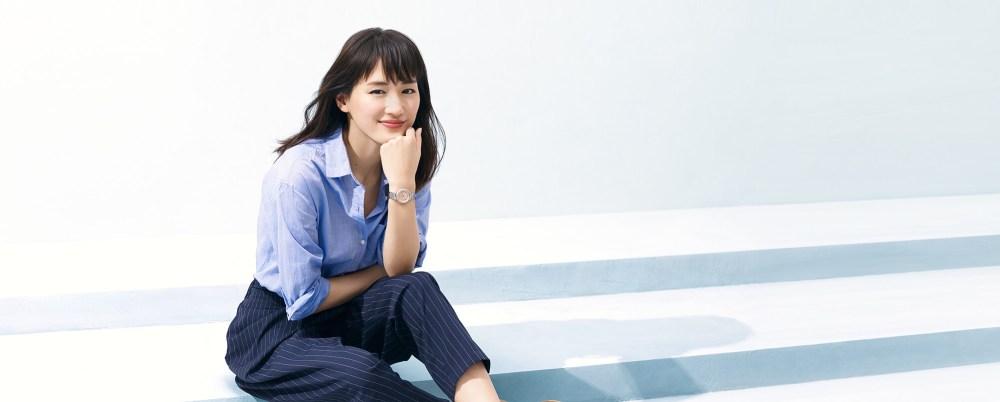 Ayase Haruka en un nuevo comercial para Lukia