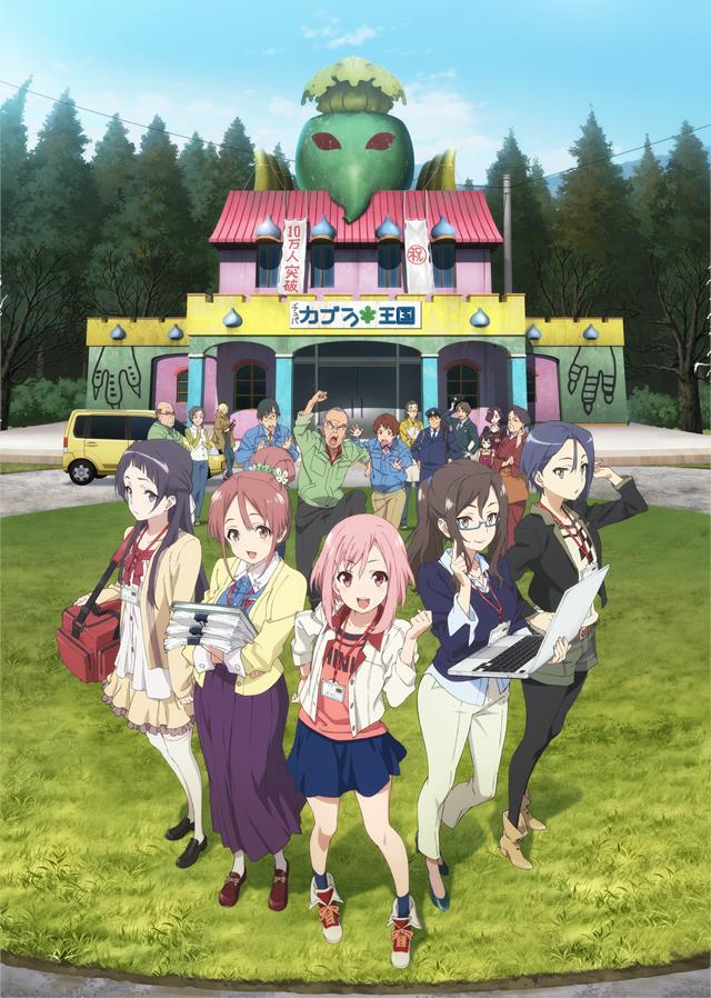Sakura Quest – nuevo anime original de P.A. Works