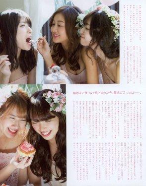℃-ute en la revista Up To Boy Plus (2017 vol. 36) 009