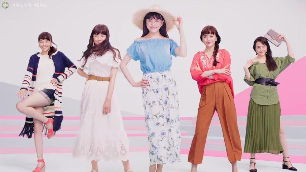 Matsui Airi (ex Sakura Gakuin) en un comercial de RyuRyu