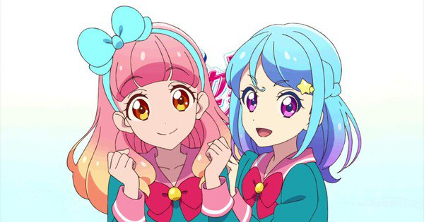 Aikatsu Friends! revela personajes principales - main visual