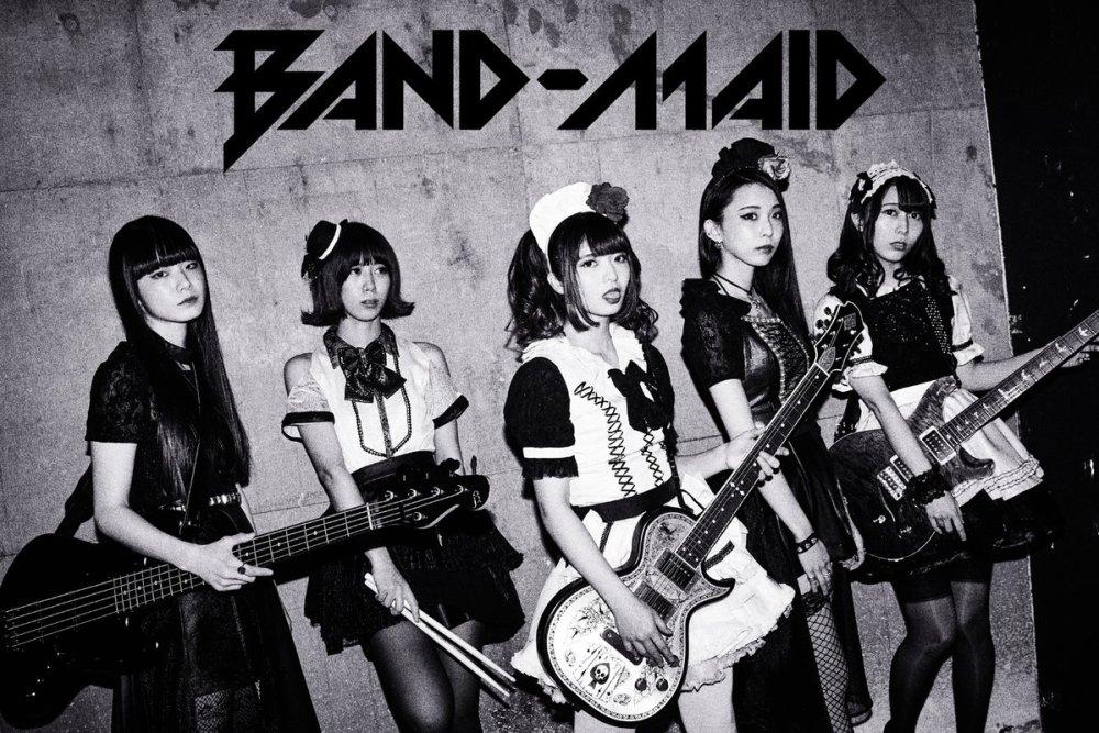 BAND-MAID - DOMINATION (video musical) - main visual