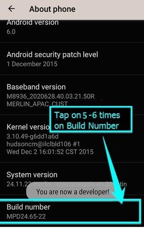 unlock bootloader of Moto G5s plus(Sanders)