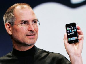 steve jobs at iPhone launch