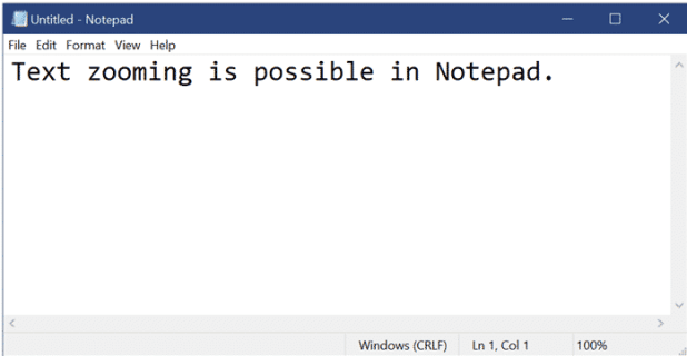 updated notepad version