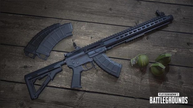 PUBG mobile mk47 mutant rifle